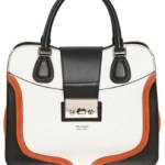 Italian Chic Tullio Zepponi Color Block Bag FREE US SHIPPING & MOST COUNTRIES WORLDWIDE