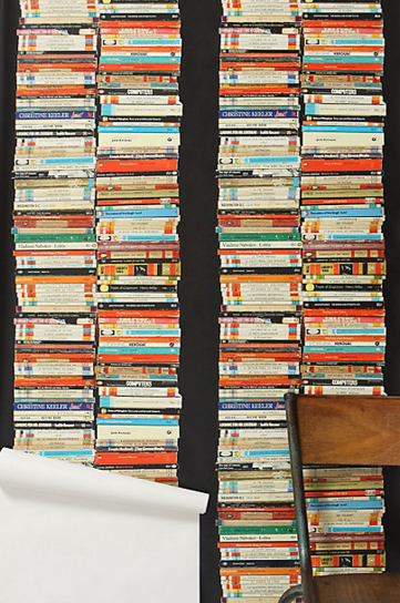 Modern Chic Wallpaper - Penguin Classic's Paperback Books