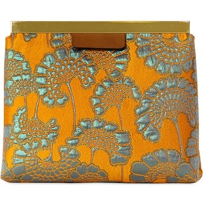 Luxurious Brocade Marni Clutch Bag