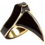 Anna Wintour Approves Dominic Jones Gold Claw Ring $89.38