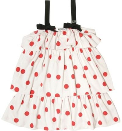 Sonia Rykiel Kids Polka Dot Dress For Toddlers