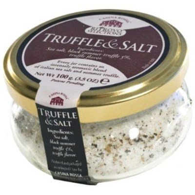 Best Italian Black Truffle Salt Casina Rossa Truffle Salt