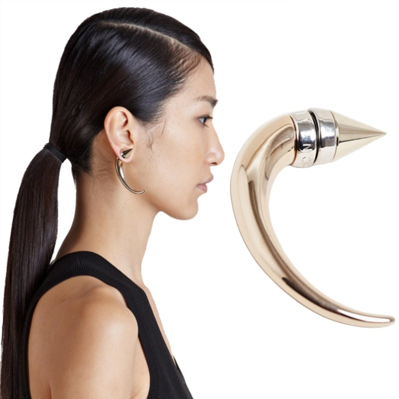 Givenchy Horn Earring With Magnet