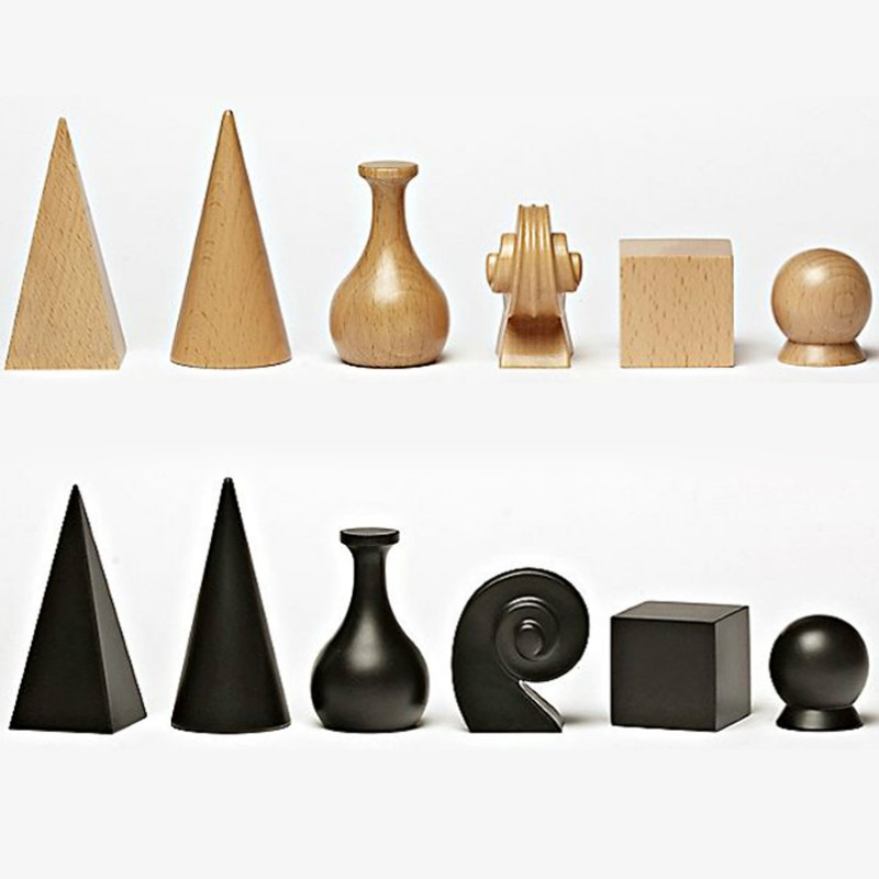 Unique Artistic Chess Sets Man Ray Chess Pieces