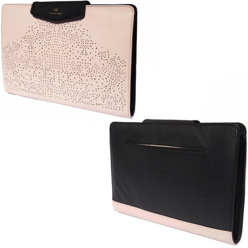 Artessorio Bag Leather Portfolio Envelope Clutch