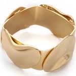 Tuleste Market Vintage Inspired Gold Flower Cuff Bracelet $195 FREE WORLDWIDE SHIPPING