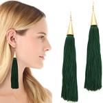 Eddie Borgo Silk Tassel Earrings FREE WORLDWIDE SHIPPING