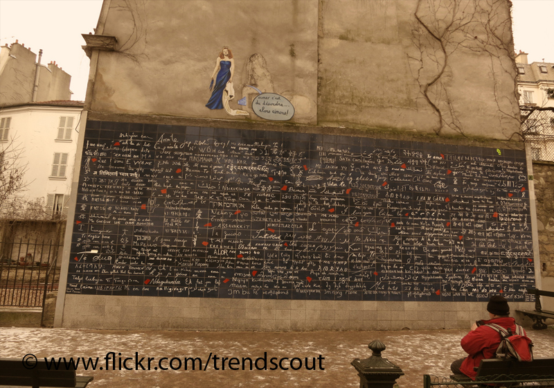 Paris France I love You Wall Travel Article & Address