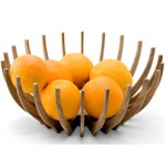 Contemporary Wooden Fruit Bowl By Skagerak FREE US SHIPPING