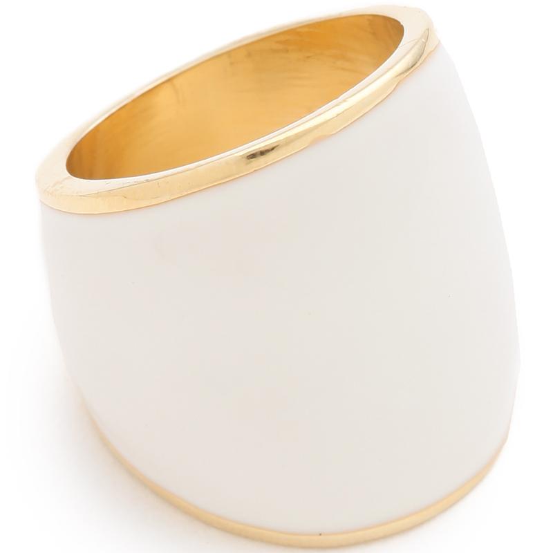 Adir Kibur Enamel Gold Ring