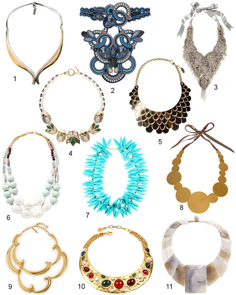 The Hit List - Chic Modern Statement Necklaces