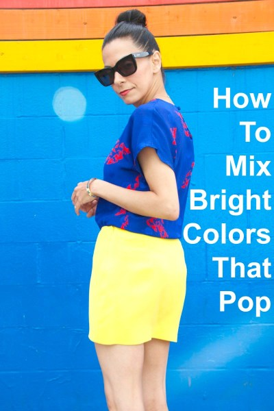 How To Mix Bright Colors That Pop