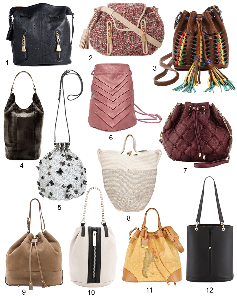 The Hit List - 12 Chic Bucket Bags Right Now