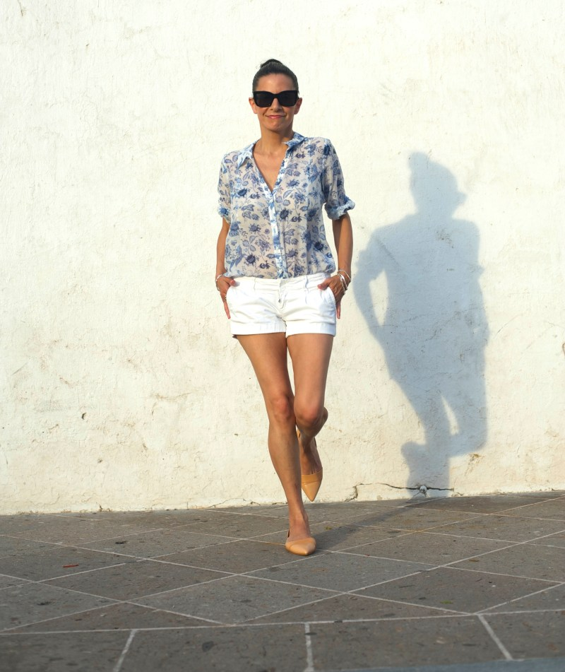 Finding The Right White Summer Shorts - I'm A Low Rider
