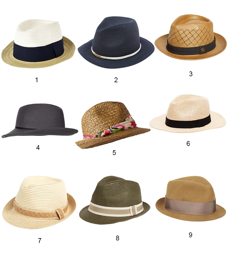 Cool Fedora Hats - www.curatedcool.com