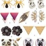 The Hit List  – 9 Modern Stud Earrings With A Twist