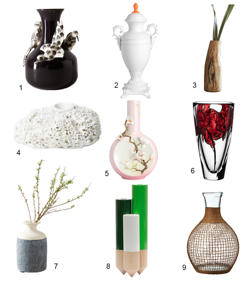 Cool Modern Vases - www.curatedcool.com