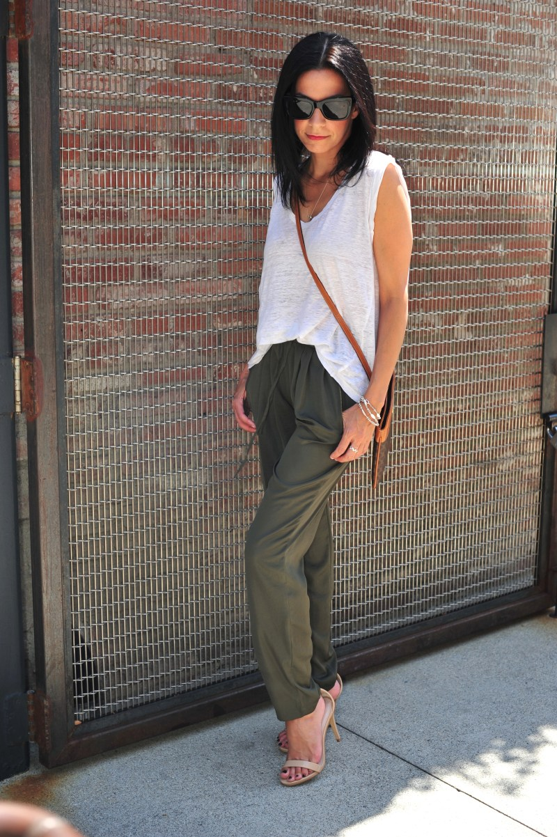 How To Wear Slouchy Pants & Get Away With It