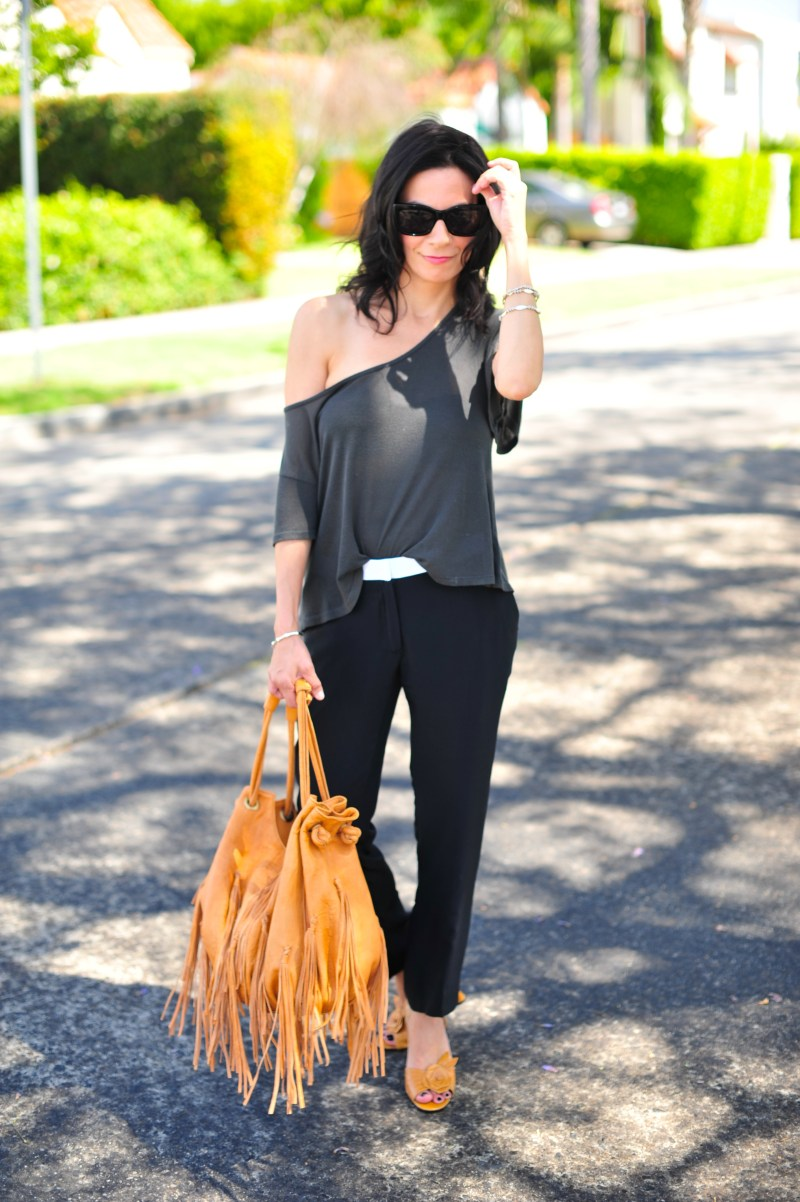 How To Style Off The Shoulder Tops