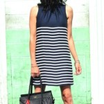 Personality Meets Forever Classic – The Navy Striped Dress