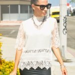 Summer Vibes In A Victorian Lace Blouse