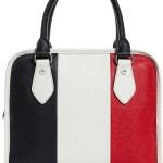 Striped Bowler Bags That Make A Statement