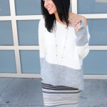 An Easy Off The Shoulder Sweater Anyone Can Pull Off