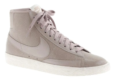 "Nike Leather Sneakers - Dubbed The ""Blazer"" For A Reason"