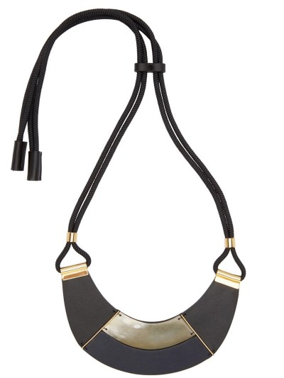 Leather Necklace Marni