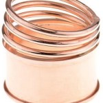 A Spiral Rose Gold Ring With A Twist – Literally!
