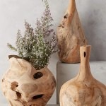 Style A Teak Bottle Vase To Update Any Room