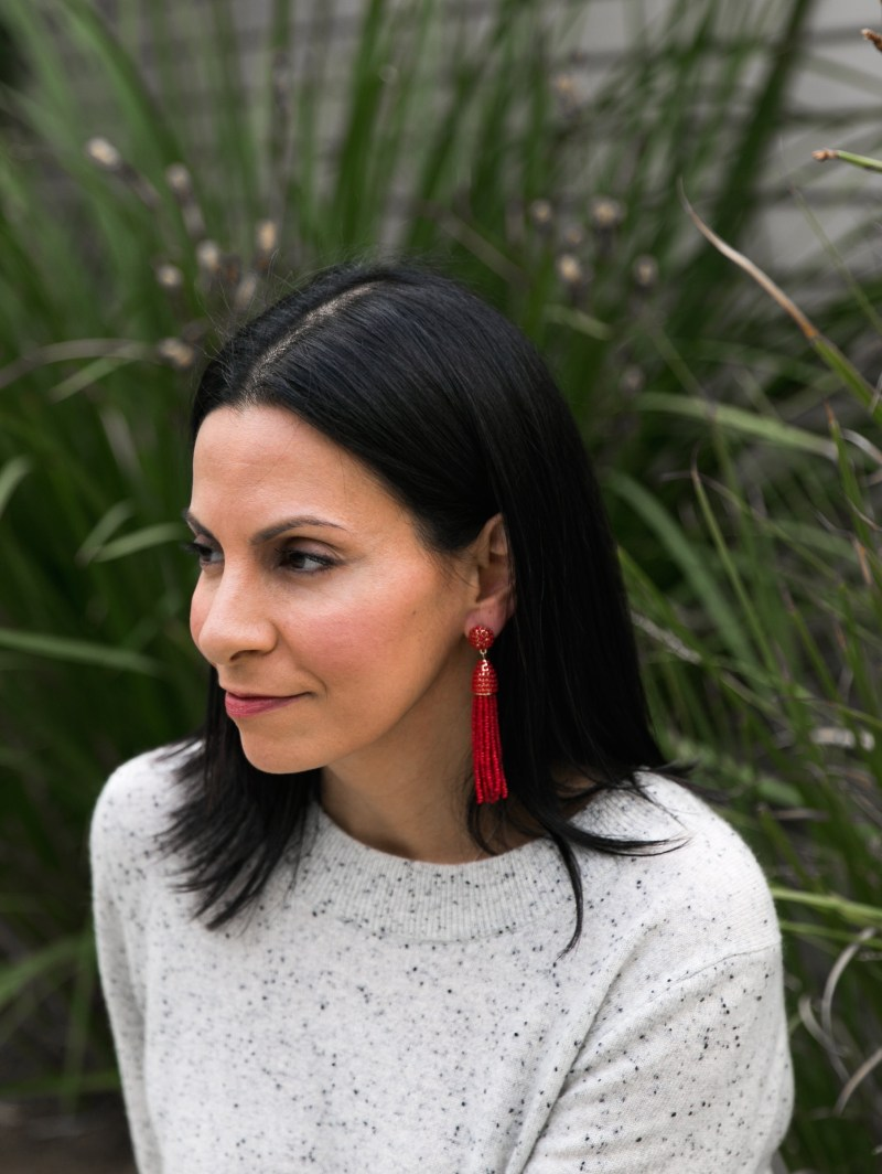 How To Style Statement Earrings Casually