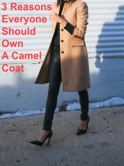 3 Reasons Everyone Should Own A Camel Coat