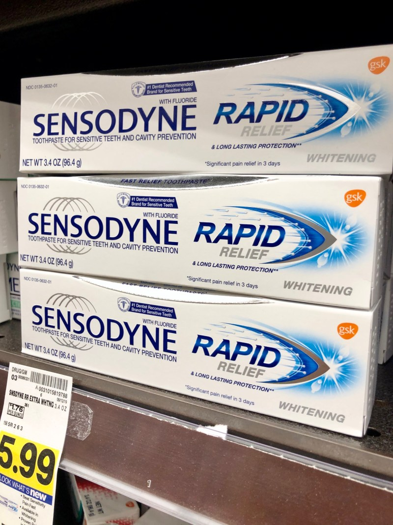 Sensodyne Rapid Relief Whitening Review