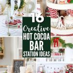 16 Best Hot Cocoa Bar Station Ideas