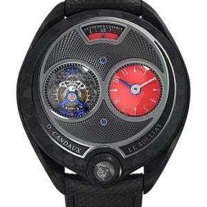 David Candaux DC6-Black Phantom Carbon Watch