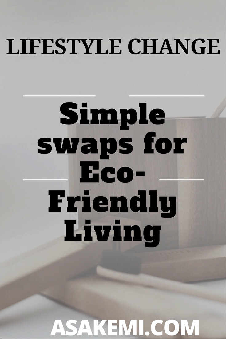 simple swaps for eco friendly living
