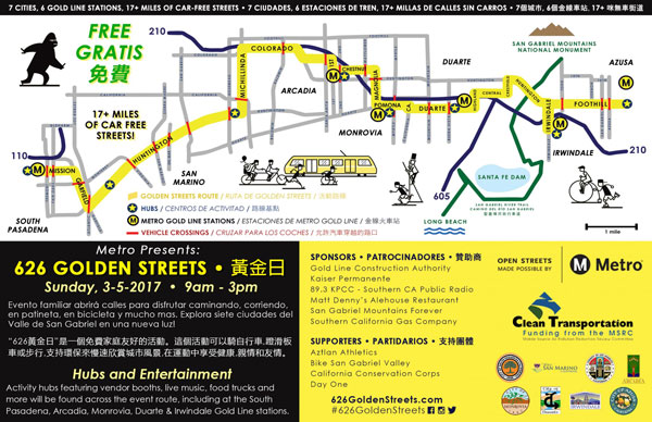 626 Golden Streets Map
