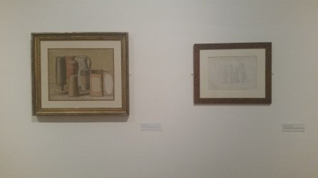 Giorgio Morandi at the MAMbo Collection, Bologna