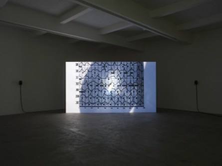 Nicholas Mangan, Ancient Lights, 2015, Chisenhale Gallery, installation view. Courtesy of the artist and Chisenhale Gallery