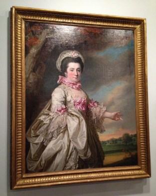 Portrait of Lady Elizabeth Jones by Francis Cotes, 1769