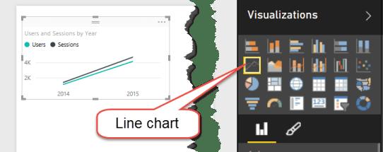 12 change to Line chart