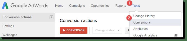 adwords conversions