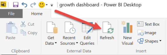 refresh power bi