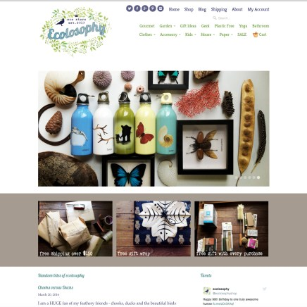 Ecolosophy Home Page