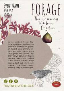 forage poster template
