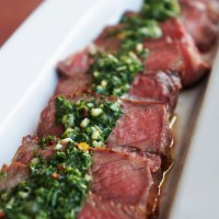 Argentinian Steaks with Chimichurri Sauce