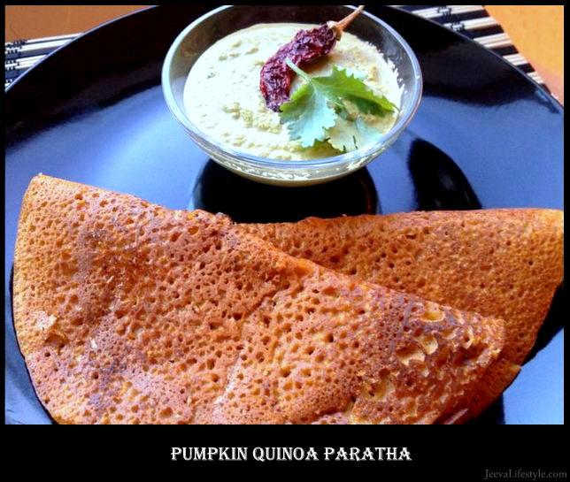 Pumpkin Quinoa Flatbread