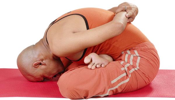 Yoga Mudra Asana (Psyhic Union Pose)