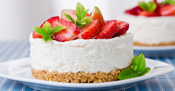 Yummy Mini Strawberry Cheesecake Recipe